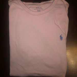 pink mens M polo